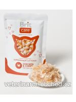 Kočky - krmivo - Brit Care Cat kapsa KITTEN Chicken & Cheese Pouch
