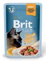 Kočky - krmivo - Brit Premium Cat D Fillets in Gravy With Tuna