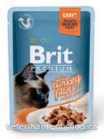 Kočky - krmivo - Brit Premium Cat D Fillets in Gravy With Turkey