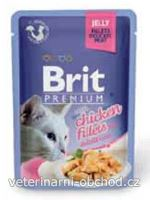 Kočky - krmivo - Brit Premium Cat D Fillets in Jelly with Chicken