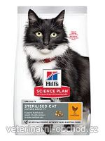 Kočky - krmivo - Hills - Hill's Fel. Dry SP Mat Adult7+Steril.Cat Chicken