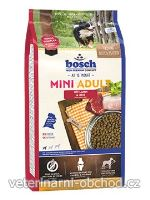 Psi - krmivo - Bosch Dog Adult Mini Drůbeží&Proso