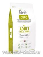 Psi - krmivo - Brit Care Dog Adult Small Breed Lamb & Rice