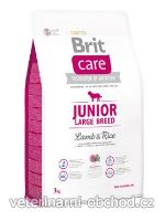 Psi - krmivo - Brit Care Dog Junior Large Breed Lamb & Rice
