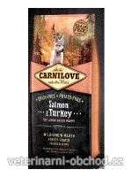 Psi - krmivo - Carnilove Dog Salmon & Turkey for LB Puppies
