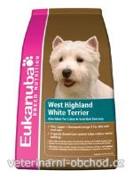 Psi - krmivo - Eukanuba Dog Breed N. West High White Terrier