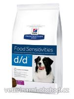 Psi - krmivo - Hills - Hill's Can. PD D/D Dry Duck&Rice