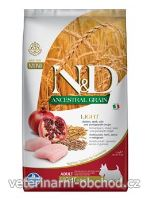 Psi - krmivo - N&D LG DOG Light Mini Chicken & Pomegr