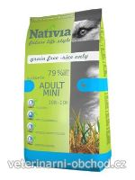 Psi - krmivo - Nativia Dog Adult Mini Duck&Rice