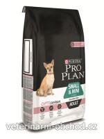Psi - krmivo - ProPlan Dog Adult Sm&Mini Optiderma salmon