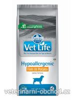 Psi - krmivo - Vet Life Natural DOG Hypo Fish & Potato